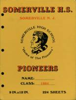1984 Yearbook Somerville High School