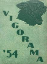 1954 Yearbook Vigor High School