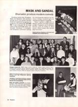 1970 Bryan High School Yearbook Page 44 & 45