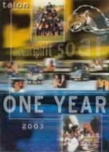 2003 Yearbook Olathe South High School