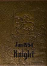 1954 Yearbook Lincoln High School