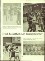 1972 Wawasee High School Yearbook Page 166 & 167