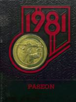 1981 Yearbook Paseo High School