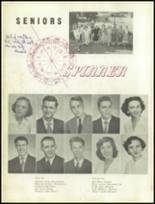 1951 Gastonia High School Yearbook Page 20 & 21