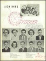 1951 Gastonia High School Yearbook Page 34 & 35