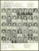 1951 Gastonia High School Yearbook Page 40 & 41