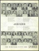 1951 Gastonia High School Yearbook Page 42 & 43