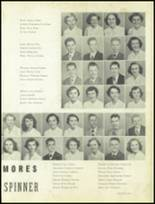1951 Gastonia High School Yearbook Page 52 & 53