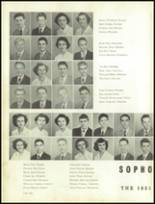 1951 Gastonia High School Yearbook Page 54 & 55