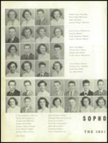 1951 Gastonia High School Yearbook Page 56 & 57