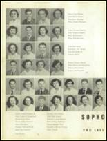 1951 Gastonia High School Yearbook Page 58 & 59