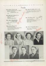 1943 Spencerville High School Yearbook Page 12 & 13