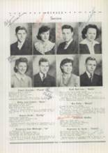 1943 Spencerville High School Yearbook Page 16 & 17