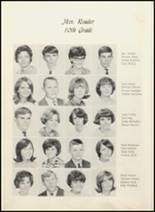 1967 Daleville High School Yearbook Page 34 & 35