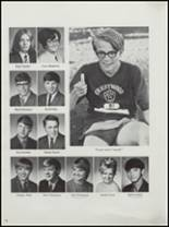 1971 Crestwood High School Yearbook Page 100 & 101