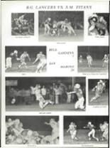 1972 Bell Gardens High School Yearbook Page 144 & 145