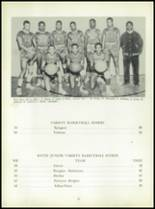 1954 Bates High School Yearbook Page 34 & 35
