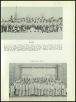 1954 Bates High School Yearbook Page 42 & 43