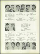 1954 Bates High School Yearbook Page 54 & 55