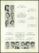 1954 Bates High School Yearbook Page 56 & 57