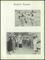 1954 Bates High School Yearbook Page 58 & 59