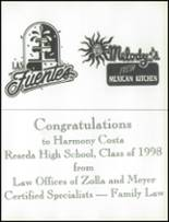 1998 Reseda High School Yearbook Page 180 & 181