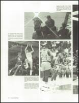 1985 William Fleming High School Yearbook Page 74 & 75