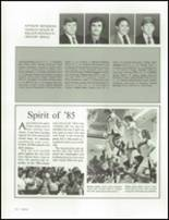 1985 William Fleming High School Yearbook Page 114 & 115