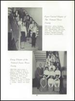 1965 Lyme Central High School Yearbook Page 32 & 33