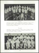 1965 Lyme Central High School Yearbook Page 42 & 43