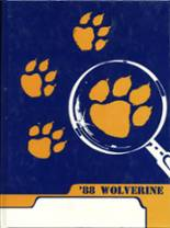 1988 Yearbook Holdenville High School