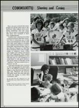 1985 Sacred Heart Academy Yearbook Page 20 & 21