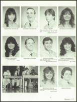 1985 Hollywood Hills High School Yearbook Page 124 & 125