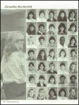 1985 Hollywood Hills High School Yearbook Page 154 & 155