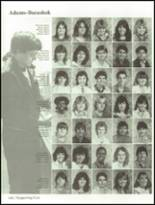 1985 Hollywood Hills High School Yearbook Page 168 & 169