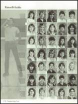 1985 Hollywood Hills High School Yearbook Page 178 & 179