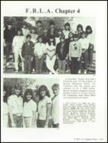 1985 Hollywood Hills High School Yearbook Page 240 & 241