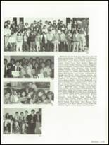 1985 Hollywood Hills High School Yearbook Page 242 & 243