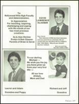 1985 Hollywood Hills High School Yearbook Page 254 & 255