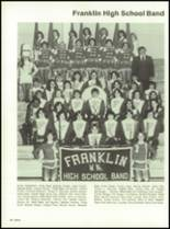 1982 Franklin High School Yearbook Page 50 & 51