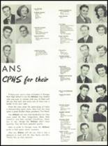 1951 Canoga Park High School Yearbook Page 50 & 51