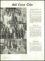 1951 Canoga Park High School Yearbook Page 100 & 101