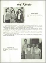 1951 Canoga Park High School Yearbook Page 102 & 103