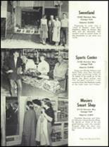 1951 Canoga Park High School Yearbook Page 112 & 113