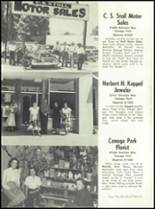 1951 Canoga Park High School Yearbook Page 116 & 117