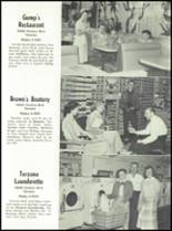 1951 Canoga Park High School Yearbook Page 122 & 123