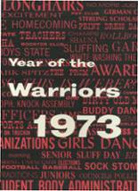 1973 Yearbook Weber High School