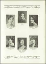 1930 Chambersburg Area Senior High School Yearbook Page 22 & 23