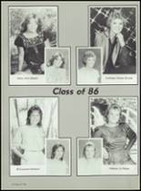 1986 Axtell High School Yearbook Page 16 & 17