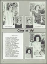 1986 Axtell High School Yearbook Page 20 & 21